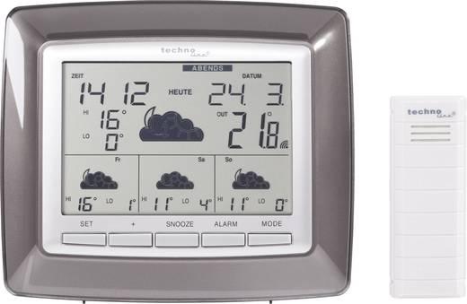 Satelliten Wetterstation Techno Line WD 4008 WD 4008 Vorhersage für 4 Tage