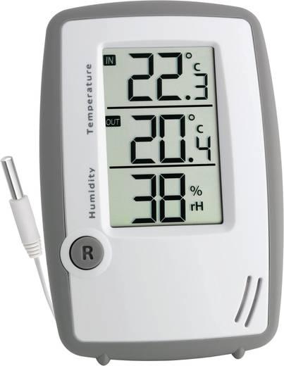TFA 30.5024 Kabelgebundenes Thermo-/Hygrometer Grau