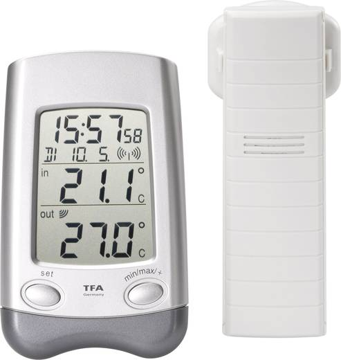 Funk-Thermometer TFA 30.3016.54 Funk-Thermometer Wave