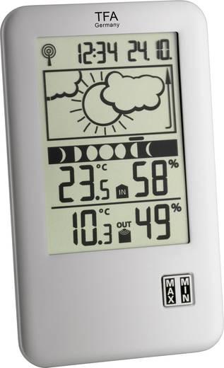 Funk-Wetterstation TFA Station météo radiopilotée Neo Plus 35.1109 Vorhersage für 12 bis 24 Stunden