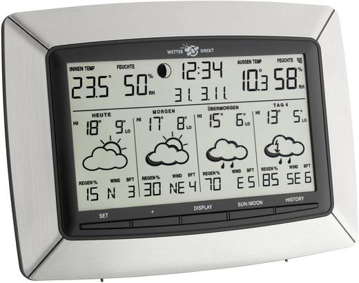 Satelliten Wetterstation TFA Satelliten-Wetterstation 35.5046.IT Vorhersage für 4 Tage