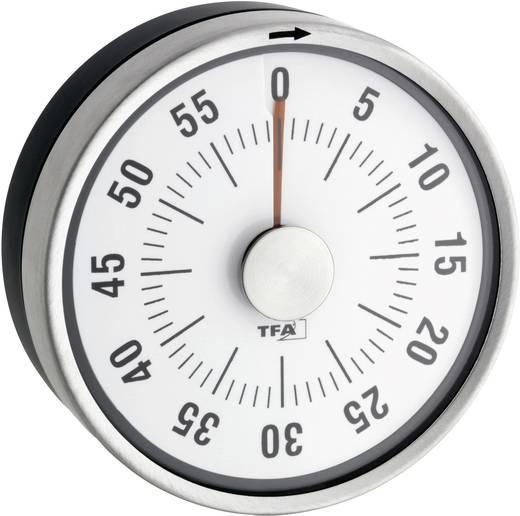 Timer TFA Puck 38-1028-10 Anthrazit analog
