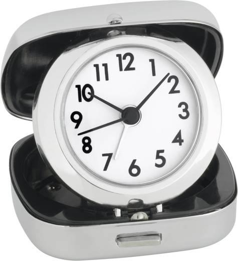 Quarz Wecker TFA 60-1012 Silber Alarmzeiten 1