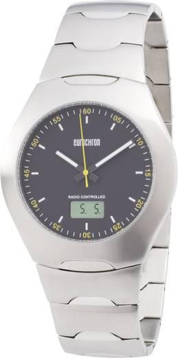 Funk Armbanduhr TQSS8753G12 (Ø x H) 41 mm x 11 mm Edelstahl Gehäusematerial=Edelstahl Material (Armband)=Edelstahl Eurochron