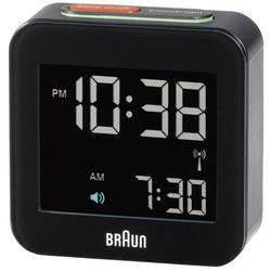 DCF budík Braun Multiband 66015, čierna