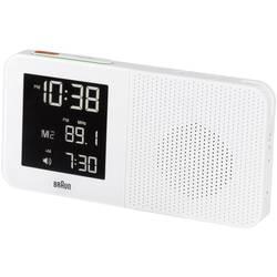 DCF budík Braun s rádiom, biely