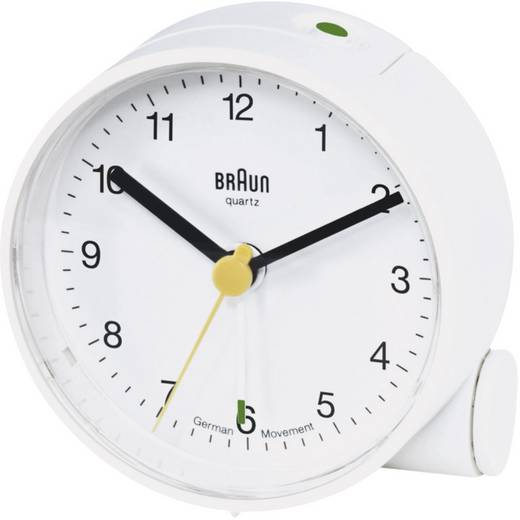 braun 66004 quarz wecker wei alarmzeiten 1 kaufen. Black Bedroom Furniture Sets. Home Design Ideas