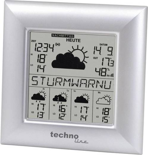 Techno Line Funk-Wetterstation WD 9000