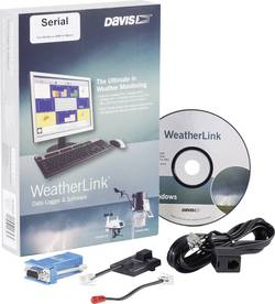 Software Davis Instruments Weather Link Seriell, DAV-6510SER, sériový port