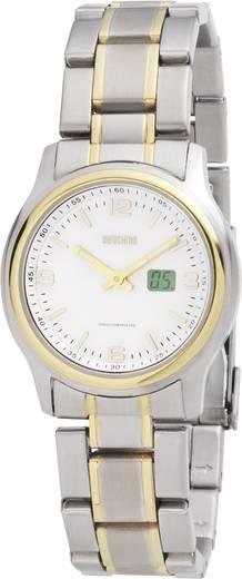 Funk Armbanduhr TQSS08823L16 (Ø x H) 33 mm x 9 mm Gold Gehäusematerial=Edelstahl Material (Armband)=Edelstahl Eurochron