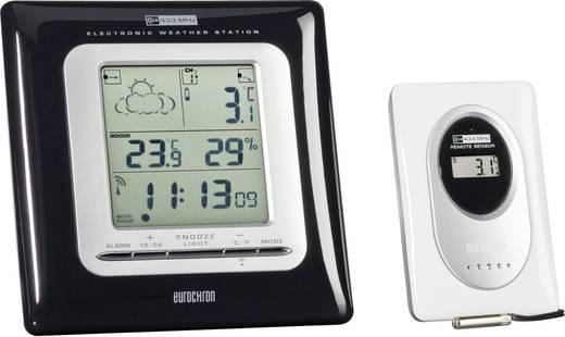Funk-Wetterstation Eurochron EFWS 701 sw EFWS 701 Vorhersage für 12 bis 24 Stunden