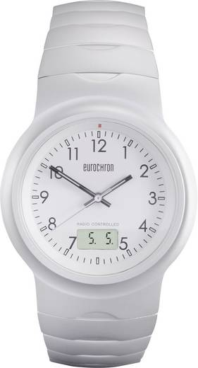 Funk Armbanduhr TQAA12352G01 (Ø x H) 40 mm x 11 mm Silber Gehäusematerial=Aluminium Material (Armband)=Aluminium Eurochr