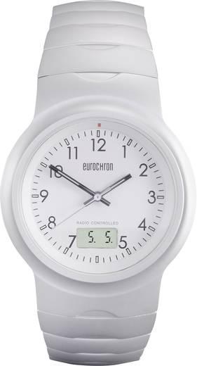 Funk Armbanduhr TQAA12352G01 (Ø x H) 40 mm x 11 mm Silber Gehäusematerial=Aluminium Material (Armband)=Aluminium Eurochron