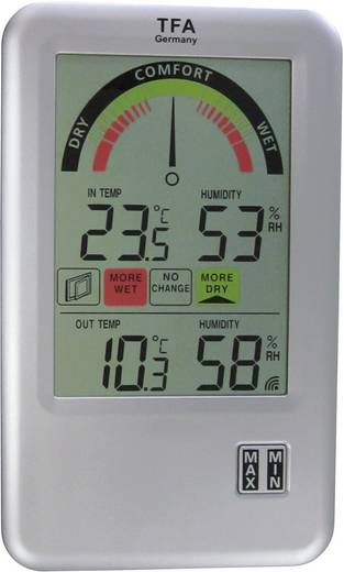 Funk-Thermo-/Hygrometer TFA 30.3045.IT Lüft Funk-Thermo-Hygrometer