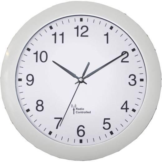 Funk Wanduhr 56782 30 cm x 4.5 cm Weiß