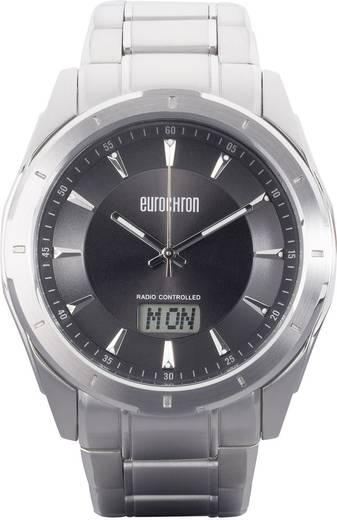 Funk Armbanduhr SS 13310G02 (Ø x H) 44 mm x 12 mm Edelstahl Gehäusematerial=Edelstahl Material (Armband)=Edelstahl Eurochron