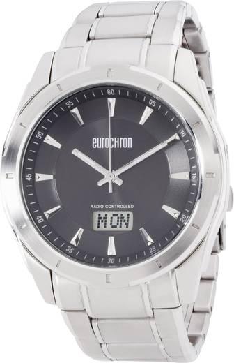 Funk Armbanduhr SS 13310G02 (Ø x H) 44 mm x 12 mm Edelstahl Gehäusematerial=Edelstahl Material (Armband)=Edelstahl Euroc