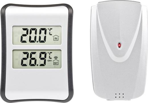 Funk-Thermometer S521B Silber