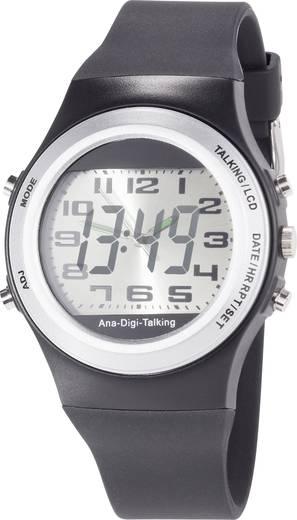 Sprechende Quarz-Analog-/Digital-Armbanduhr
