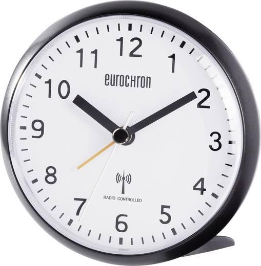 Funk Wecker Eurochron HD-TRC202 Schwarz Alarmzeiten 1