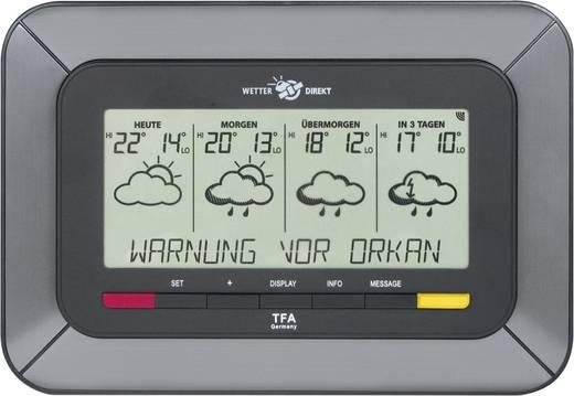 Satelliten Wetterstation TFA Satellitenge. Funk-Wetterstation Twister 35.5047.IT Vorhersage für 4 Tage