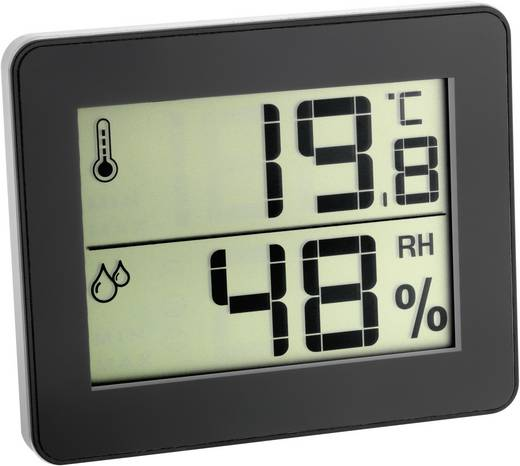 Thermo-/Hygrometer TFA 30.5027.01 Schwarz