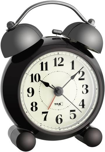 Quarz Wecker TFA 60.1014 Schwarz Alarmzeiten 1