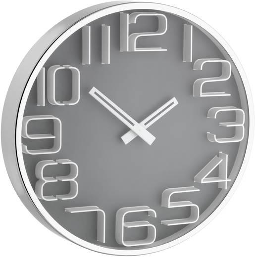 TFA 60.3016.10 Quarz Wanduhr 30 cm x 4 cm Metall