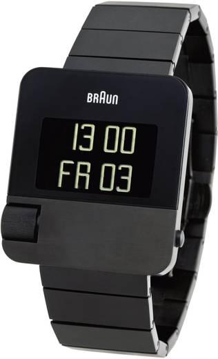 Quarz, Chronograph Armbanduhr 66535-BN0106BKBTG-SIDE (L x B x H) 41.8 x 36.7 x 10.1 mm Schwarz Gehäusematerial=Edelstahl