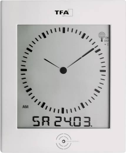 Funk Wanduhr TFA 60.4506 220 mm x 265 mm x 31 mm Silber