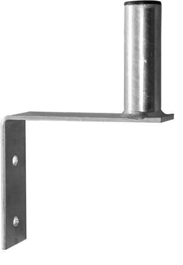 SAT-Wandhalterung A.S. SAT 20015 Wandabstand: 15 cm S-Form Silber
