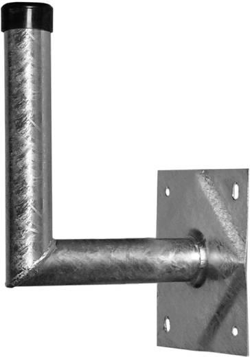 SAT-Wandhalterung A.S. SAT 24025 Wandabstand: 25 cm Passend für Spiegelgröße: Ø bis 100 cm Silber