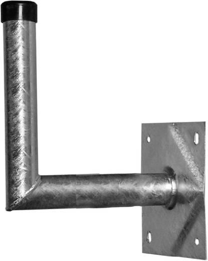 SAT-Wandhalterung Stahl A.S. SAT 24030 Wandabstand: 30 cm Passend für Spiegelgröße: Ø bis 100 cm Silber