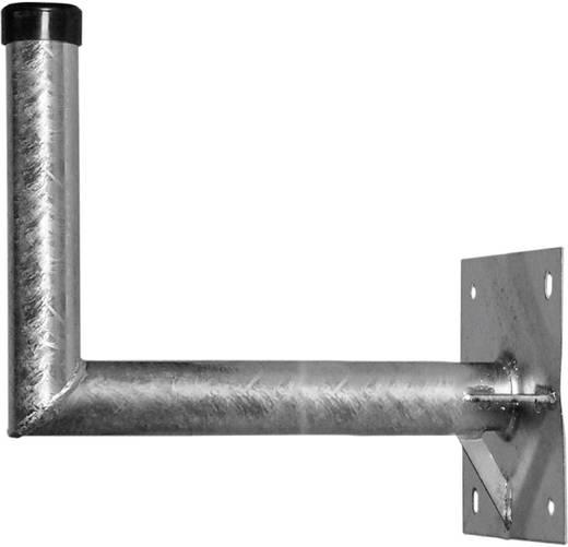 SAT-Wandhalterung A.S. SAT 24069 Wandabstand: 69 cm Passend für Spiegelgröße: Ø bis 100 cm Silber