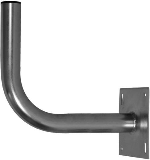 SAT-Wandhalterung A.S. SAT 24740 Wandabstand: 42 cm Silber