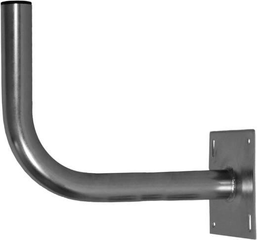 SAT-Wandhalterung A.S. SAT 24750 Wandabstand: 51 cm Passend für Spiegelgröße: Ø bis 90 cm Silber