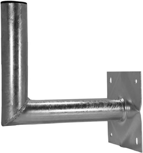 SAT-Wandhalterung A.S. SAT 26003 Wandabstand: 30 cm Passend für Spiegelgröße: Ø bis 100 cm Silber