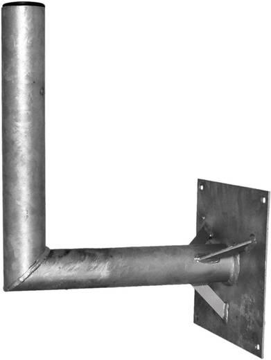SAT-Wandhalterung A.S. SAT 26050 Wandabstand: 50 cm Passend für Spiegelgröße: Ø bis 150 cm Silber