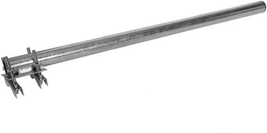 Antennenmast-Ausleger Stahl A.S. SAT 38280 Passend für Mast-Ø (max.): 50 mm Mastabstand: 0 cm Produktabmessung, Ø: 38 mm