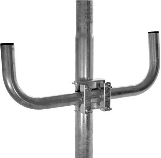 Antennenmast-Ausleger Stahl A.S. SAT 38902 Passend für Mast-Ø (max.): 60 mm Mastabstand: 0 cm Produktabmessung, Ø: 38 mm