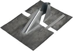 Image of Dachziegel-Dichtung A.S. SAT 41900 Passend für Mast-Ø (max.): 60 mm Silber