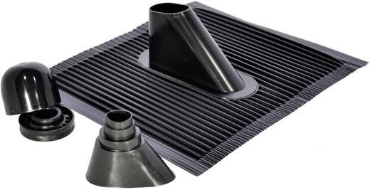 Dachziegel-Dichtung A.S. SAT 44310 Passend für Mast-Ø (max.): 50 mm Schwarz