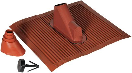Dachziegel-Dichtung A.S. SAT 44511 Passend für Mast-Ø (max.): 60 mm Ziegel-Rot