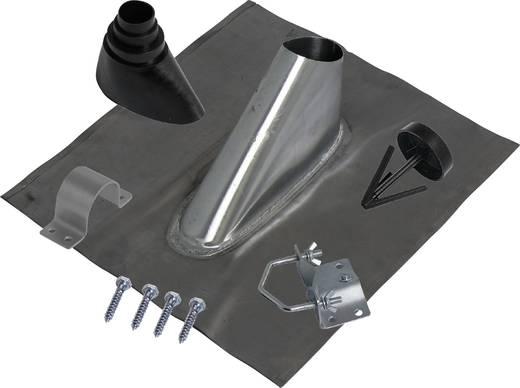 Dachziegel-Dichtung A.S. SAT 44660 Passend für Mast-Ø (max.): 60 mm Silber