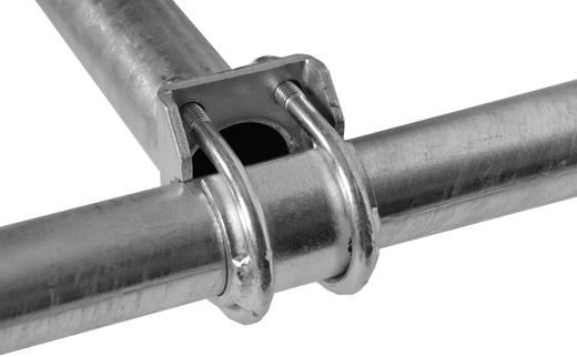 SAT-Dachhalterung A.S. SAT 51212 Passend für Spiegelgröße: Ø bis 100 cm Silber