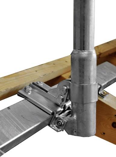SAT-Dachhalterung A.S. SAT 51525 Passend für Spiegelgröße: Ø bis 85 cm Silber