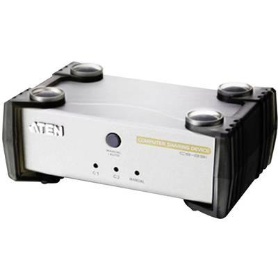 2 Port KVM-Umschalter VGA USB 1920 x 1440 Pixel CS231 ATEN Preisvergleich