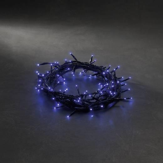 Micro-Lichterkette Außen netzbetrieben 180 LED Blau Beleuchtete Länge: 7.16 m Konstsmide 2084-400
