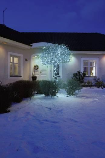 Micro-Lichterkette Außen netzbetrieben 40 LED Blau Beleuchtete Länge: 2.73 m Konstsmide 3627-440