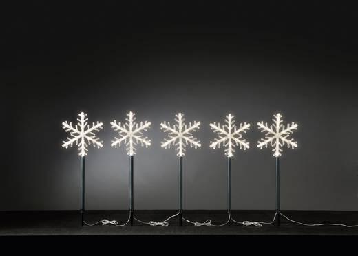 led weihnachtsdekoration schneeflocken warm wei led. Black Bedroom Furniture Sets. Home Design Ideas